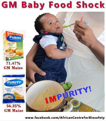 Nestle baby food shuns GMOs, Purity GM baby food shock | ACB