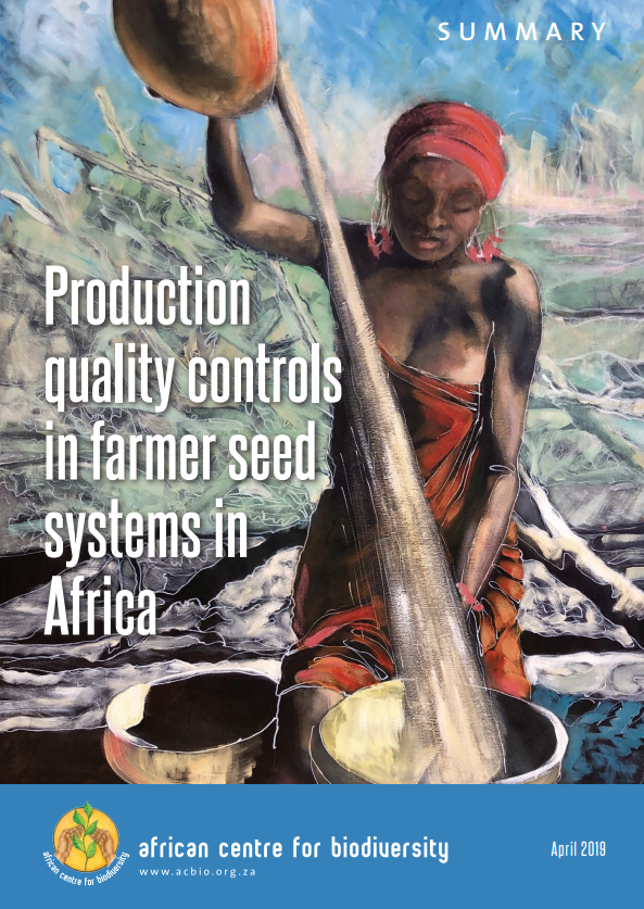 Production quality controls in farmer seed systems in Africa Summary